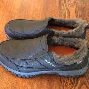 NEW Women's 9.5 MERRELL Shoes Leather WATERPROOF